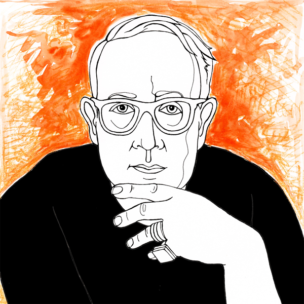 illustration of Jeremy Boughey Psychotherapist